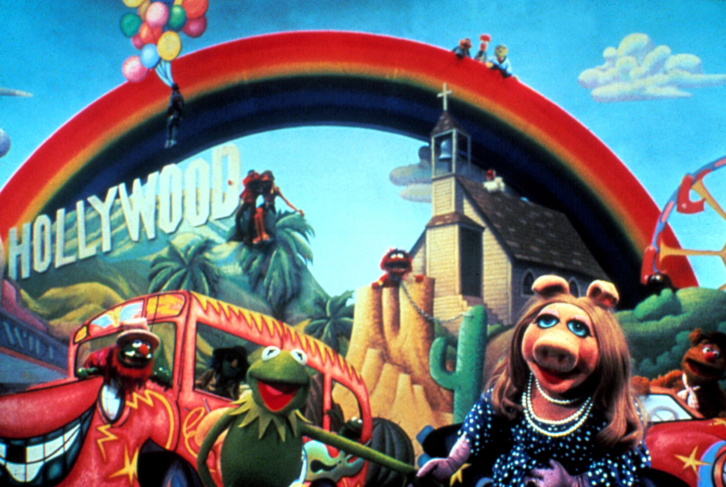 """The finale of 'The Muppet Movie' includes a reprise of """"The Rainbow Connection""""(Henson Associates courtesy of Everett Collection)"""
