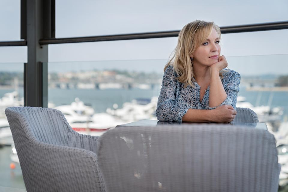 Rebecca Gibney as Julie Rafter in Back To The Rafters