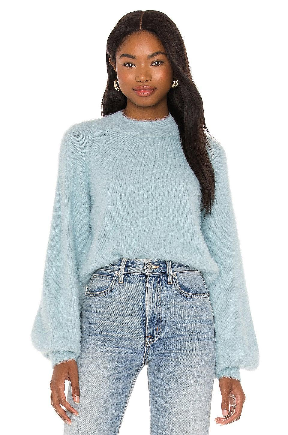 <p>They'll want to snuggle up in this pretty <span>Bardot Belle Sleeve Fluffy Knit Sweater</span> ($79).</p>