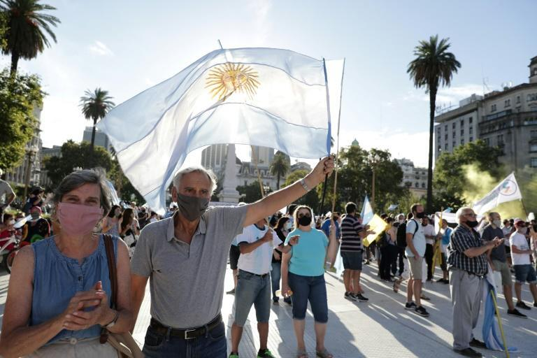 With a population of 44 million, Argentina has registered more than two million infections and about 52,000 deaths from coronavirus