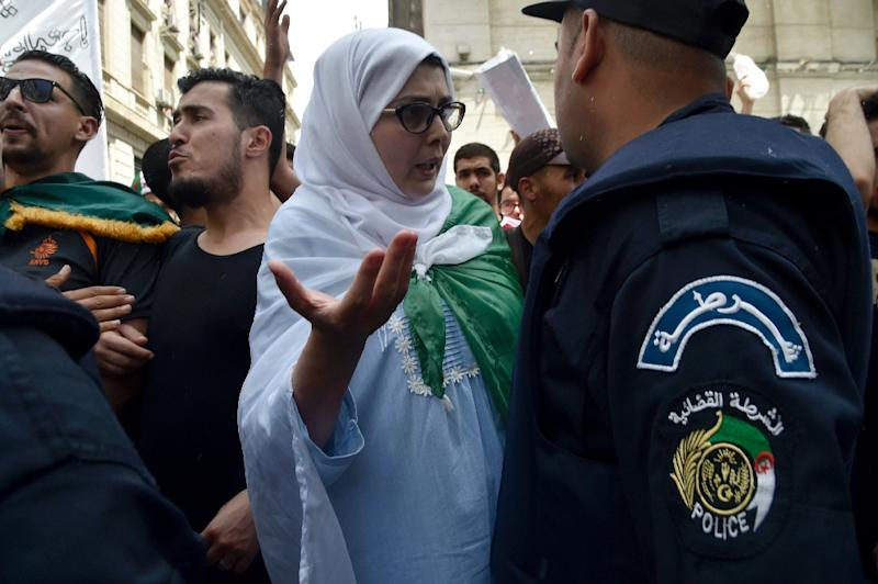 Algerian protesters have continued to hold mass rallies demanding the departure of Bouteflika-era officials