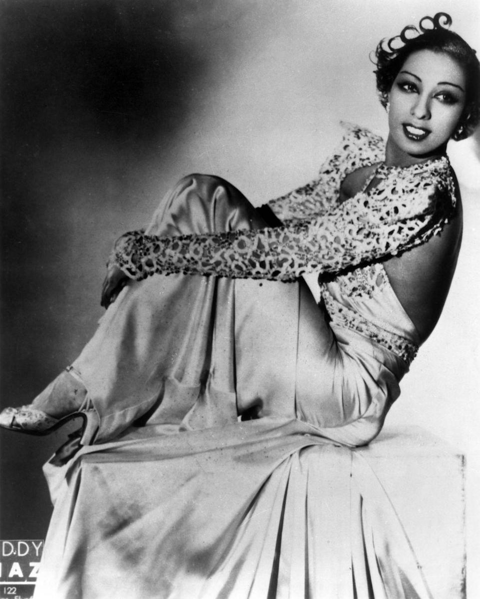 """<p>As Baker became more and more known for her provocative costumes and performances, she cultivated an image as a sex symbol. Baker earned nicknames, like """"Black Venus"""" and """"Black Pearl,"""" and her admirers included everyone <a href=""""https://www.biography.com/performer/josephine-baker"""" rel=""""nofollow noopener"""" target=""""_blank"""" data-ylk=""""slk:from Ernest Hemingway to Pablo Picasso"""" class=""""link rapid-noclick-resp"""">from Ernest Hemingway to Pablo Picasso</a>.</p>"""