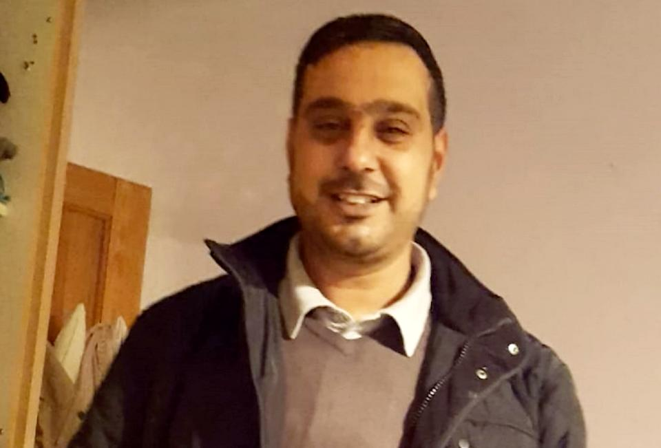 The victim Sajed Choudry (SWNS)