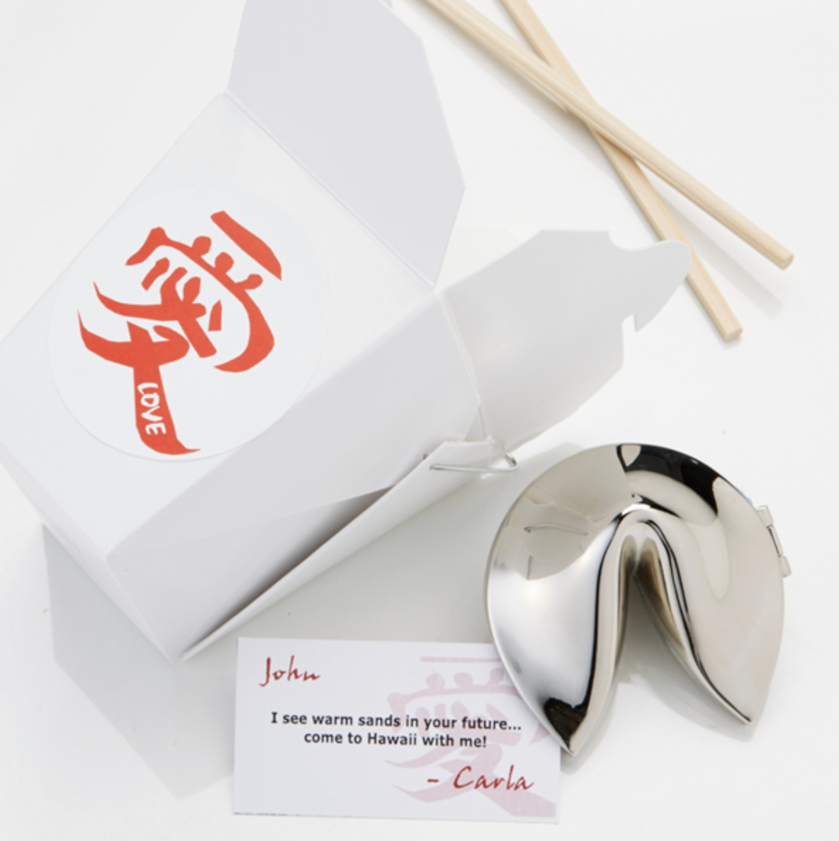 Fortunate Love Personalized Fortune Cookie