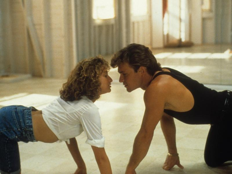 "Jennifer Grey und Patrick Swayze im Kultfilm ""Dirty Dancing"" (Bild: Globe-Photos/ImageCollect)"