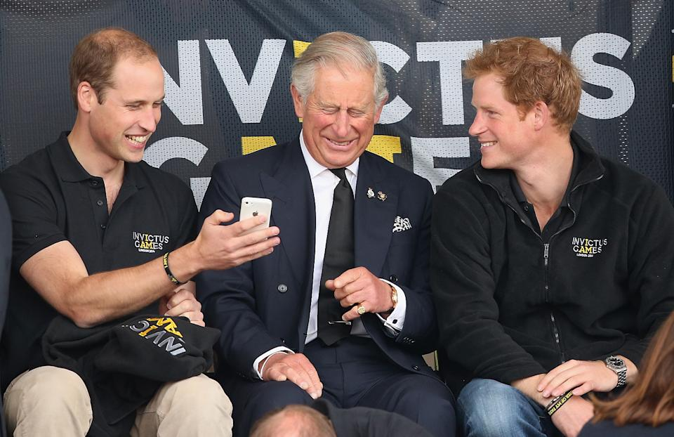 Prince William and Prince Charles were also involved in talks about Prince Harry's exit. Photo: Getty