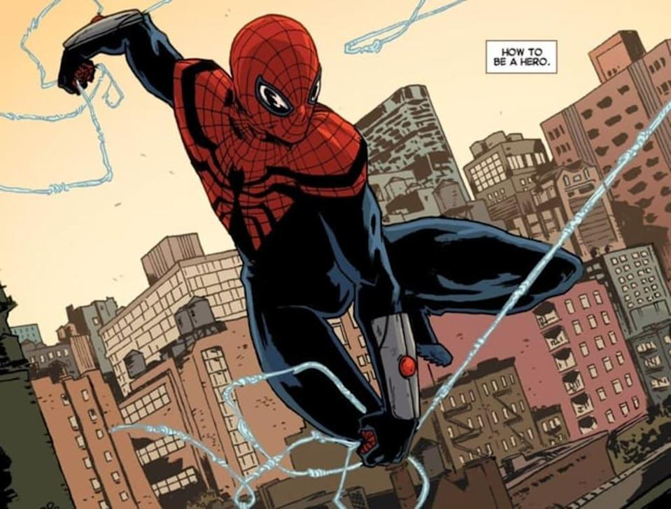 A Doctor Octopus controlled Peter Parker, also known as the Superior Spider-Man