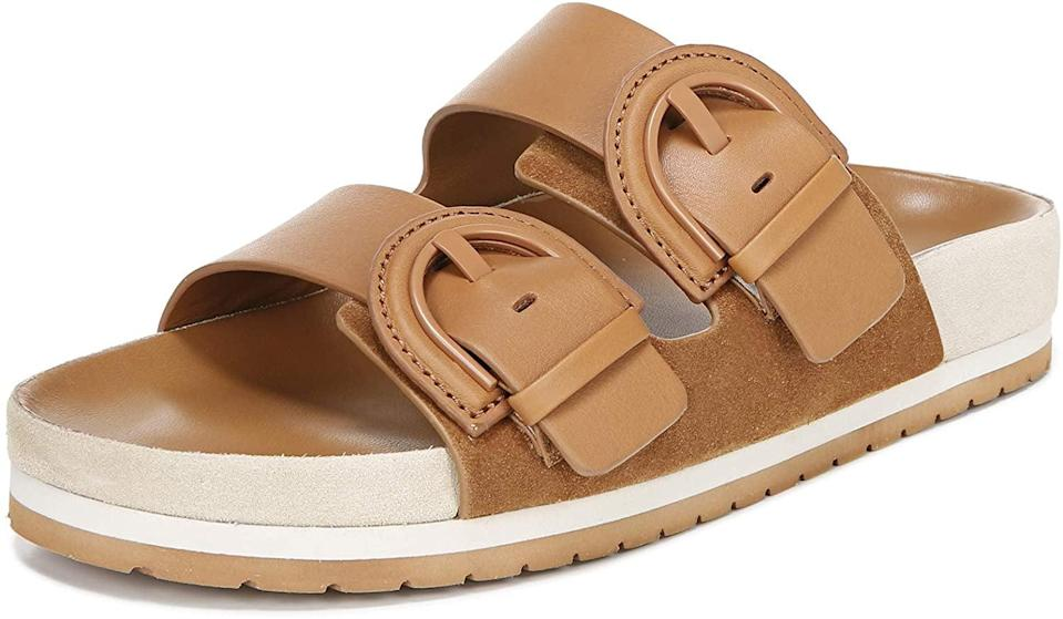 <p>These splurge-worthy <span>Vince Glyn Slide Sandals</span> ($146 and up) have a versatile color palette and comfortable silhouette.</p>