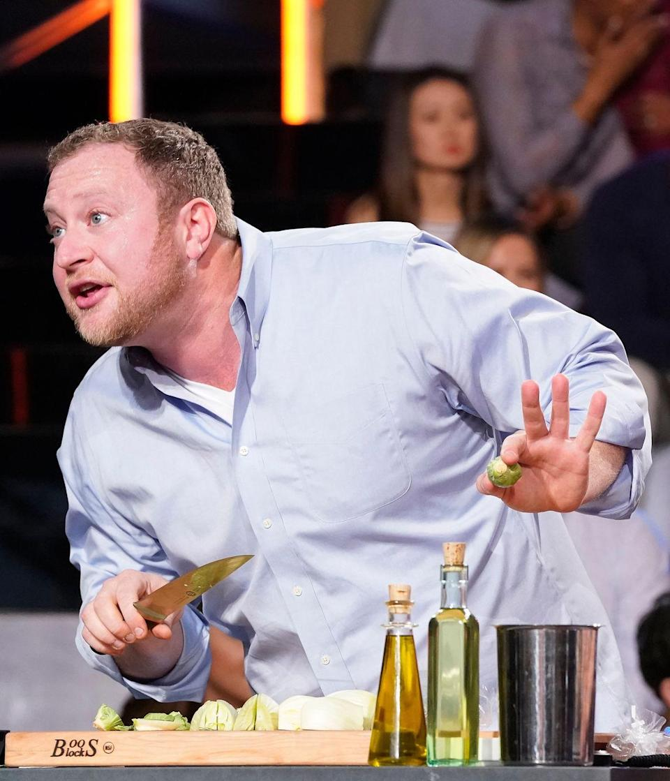 "<p>There have been episodes where contestants have sliced a finger or even fainted during a challenge. In those instances, the <a href=""https://metro.co.uk/2020/07/04/myles-stephenson-severed-thumb-celebrity-masterchef-12945185/"" rel=""nofollow noopener"" target=""_blank"" data-ylk=""slk:show's team of medics"" class=""link rapid-noclick-resp"">show's team of medics</a>, who are on standby during each episode, tend to the contestants.</p>"
