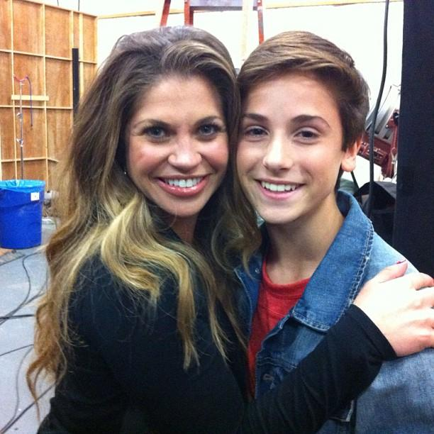 """In the nearly 13 years since the """"<a href=""""http://tv.yahoo.com/shows/boy-meets-world/"""">Boy Meets World</a>"""" finale, characters Cory and Topanga managed to have not only a girl, but a boy, as well. The role of older brother Elliot will be played by newcomer Teo Halm, who <a href=""""http://instagram.com/p/XLkcBBPmHr"""">Instagrammed this shot</a> of him and his TV mom, Danielle Fishel. Just like Savage and Blanchard, these two resemble each other with their dirty blond hair and perfect smiles. Halm is already taller than the pint-sized Fishel, who's only 5'1"""". He commented on the pic: """"mommy was on her tippy toes. IM TALLER THAN YOU.""""<br /><br />It's <a href=""""http://www.complex.com/pop-culture/2013/03/meet-cory-and-topangas-son-elliot"""">speculated</a> that Elliot might play a similar character to Cory's not-so-bright older brother, Eric Matthews (Will Friedle) on """"Boy Meets World."""" But it's OK, Fishel loves her TV kids anyway, <a href=""""https://twitter.com/daniellefishel/status/308783622519930880"""">tweeting</a>: """"If having real life children is as hard as finding these two beauties (@rowblanchard & @teohalm) then I think I'm happy with being a TV mom."""""""