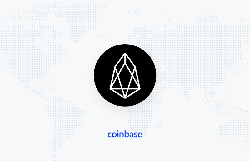 Coinbase makes EOS cryptocurrency announcement
