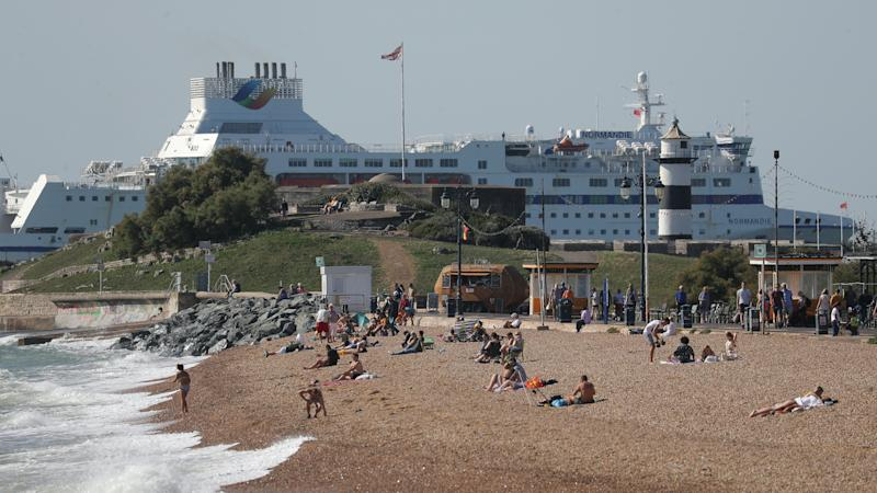 Police urge people to stick to social distancing rules over warm weekend