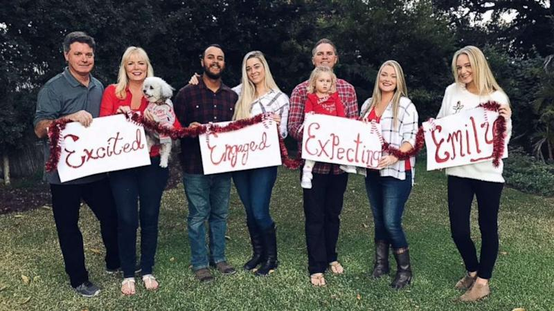 Family celebrates single daughter in hilarious Christmas card