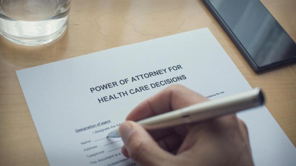 power of attorney for health care decisions