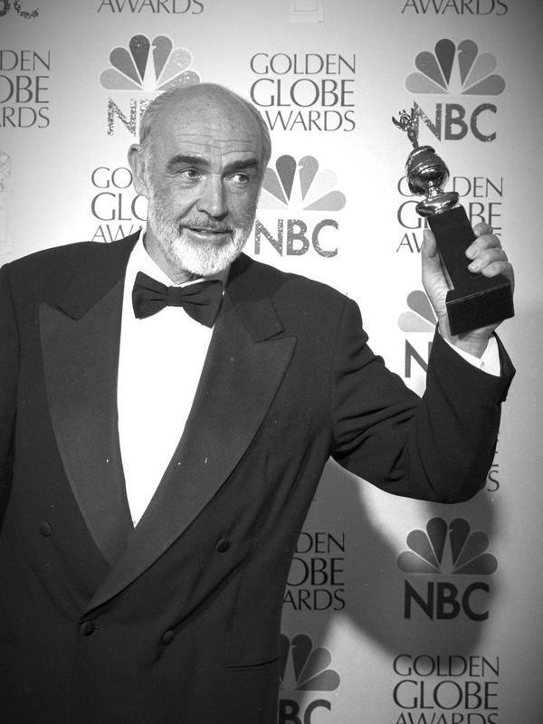 Sean Connery. (Foto: Instagram @goldenglobes)