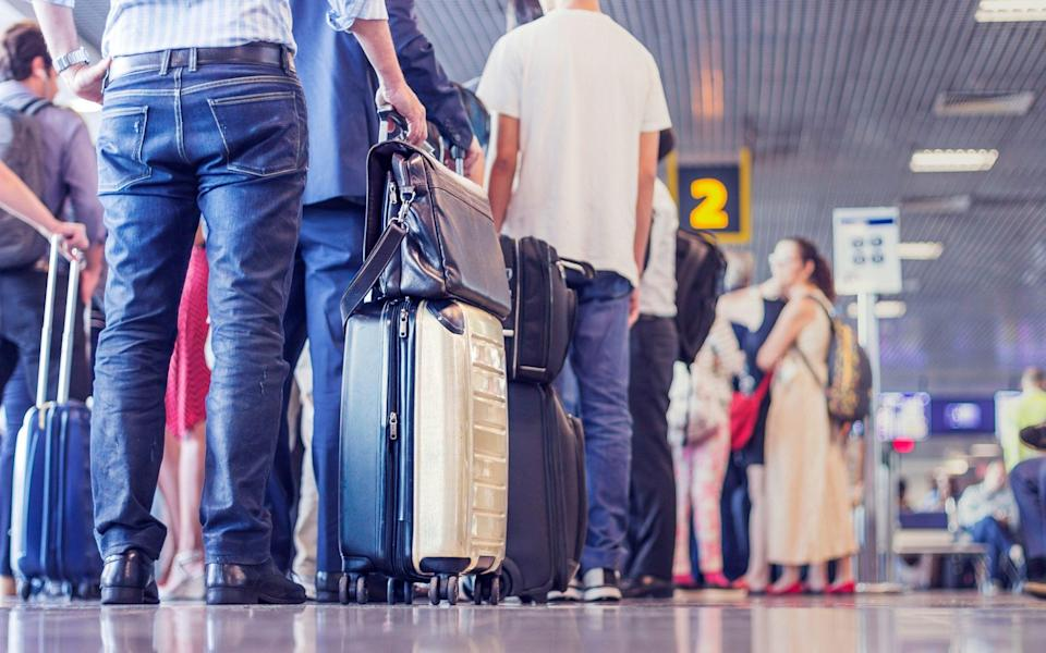 airport travel psychology - Getty