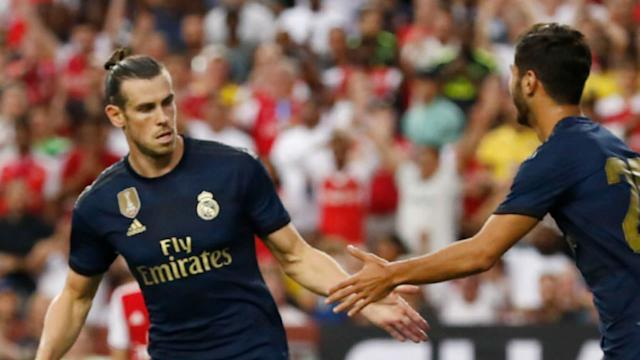 230719 Real Madrid Arsenal Gareth Bale Marco Asensio