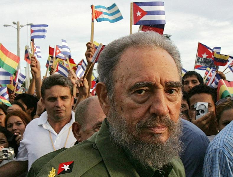 Former Cuban President Fidel Castro was loathed by many for stifling dissent, but loved by others for providing free universal healthcare and education (AFP Photo/ADALBERTO ROQUE)