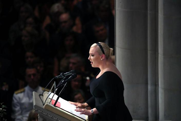 Meghan McCain (Photo: Getty Images)
