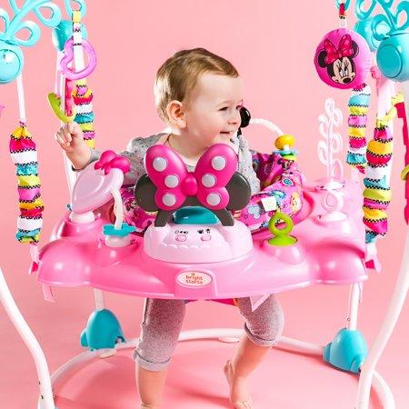 Bright Starts Disney Baby Minnie Mouse PeekABoo Activity Jumper. (Photo: Walmart)