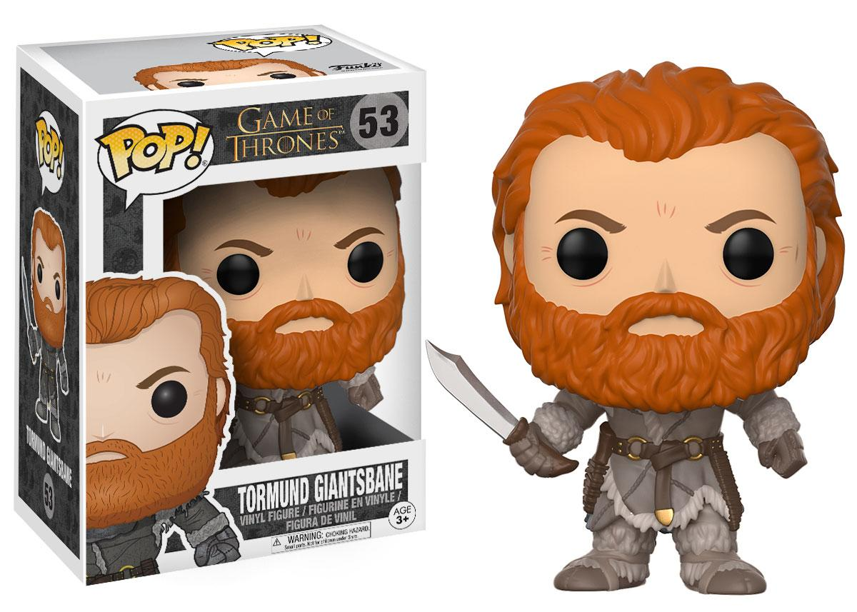<p>Tormund Giantsbane (played by Kristofer Hivju) will be available this July.<br /> (Credit: Funko) </p>