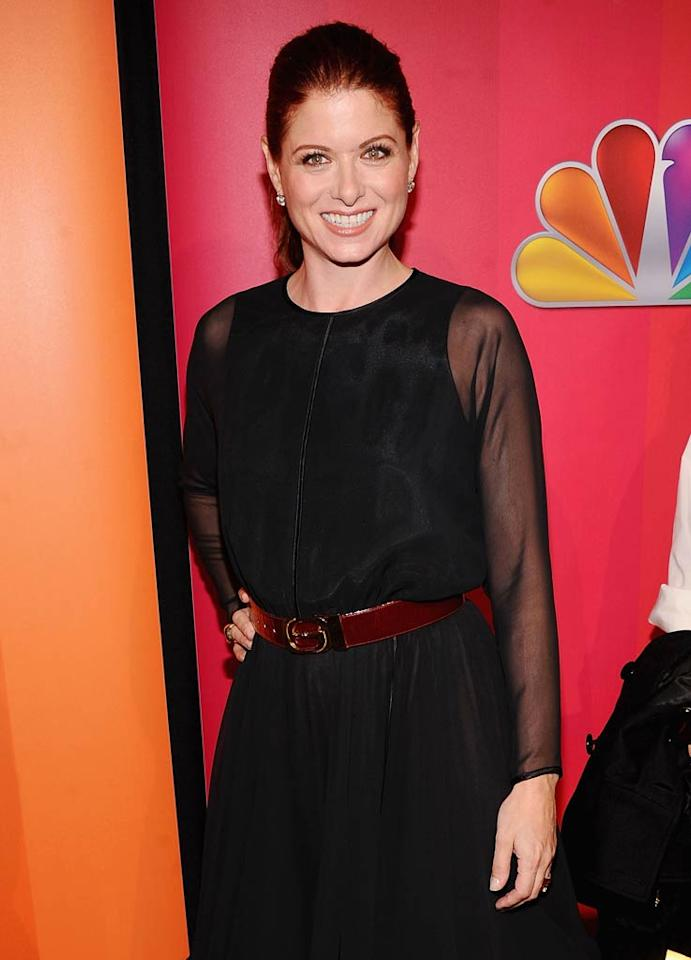 "Is it us or is Debra Messing looking better than ever? The 42-year old, who first rose to fame 13 years ago when she began starring in the NBC sitcom ""Will and Grace,"" will return to the network, but this time to star in a musical drama called ""Smash."" Jamie McCarthy/<a href=""http://www.wireimage.com"" target=""new"">WireImage.com</a> - May 16, 2011"