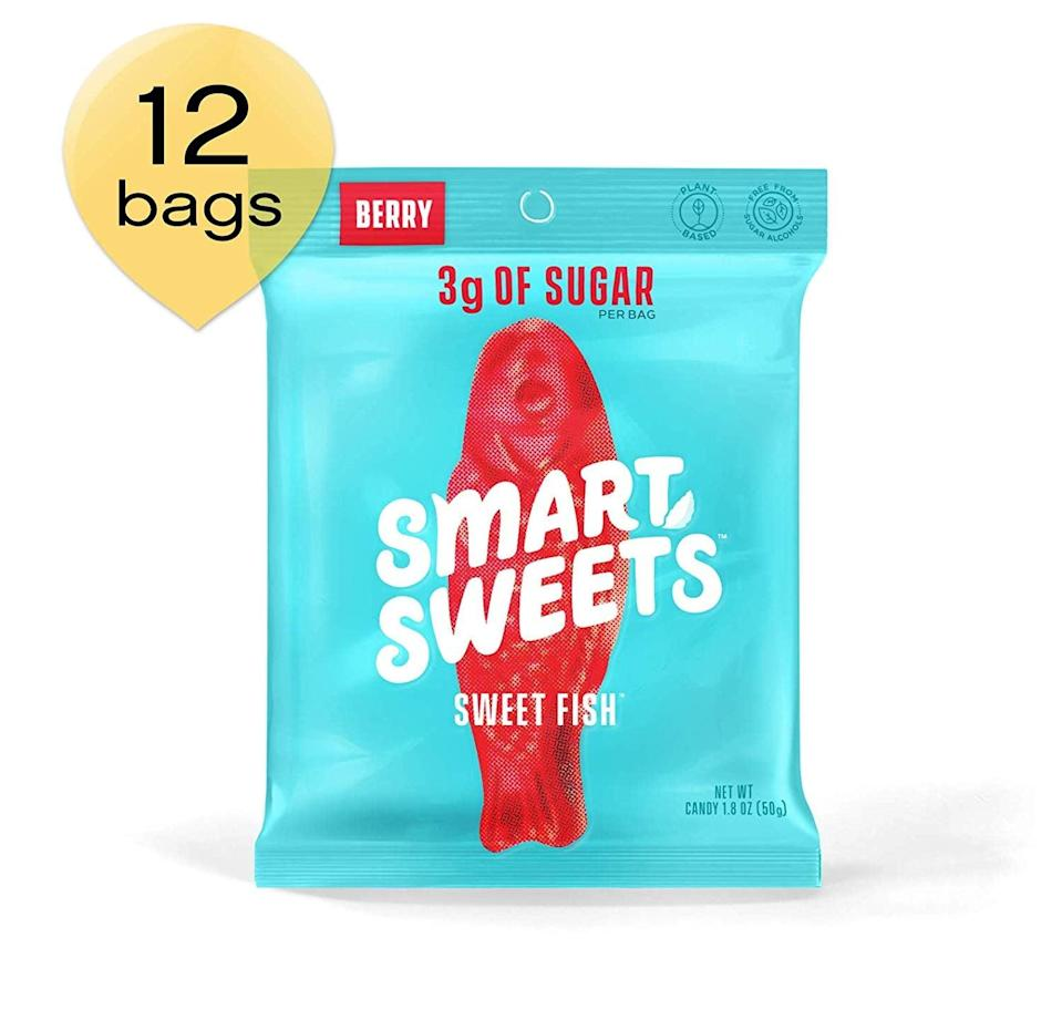 <p>Just try not to eat the whole bag of these <span>SmartSweets SweetFish</span> ($34 for 12). But if you do, it's OK - they only have seven grams of net carbs.</p>