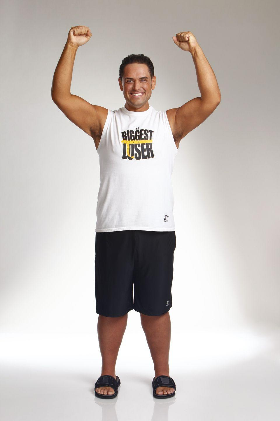 <p>When Michael started on the show, he weighed 526 pounds—the show's heaviest contestant ever. He ended up finishing at 262 pounds to win season 9.</p>