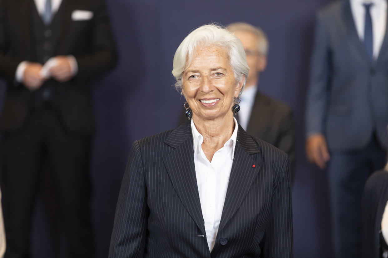 President of the European Central Bank Christine Lagarde in Brussels, Belgium. Photo: Thierry Monasse/Getty Images
