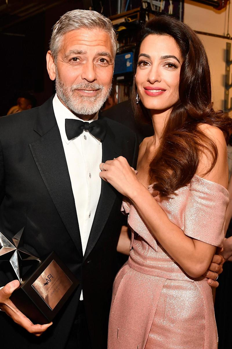George and Amal Clooney (Getty Images)