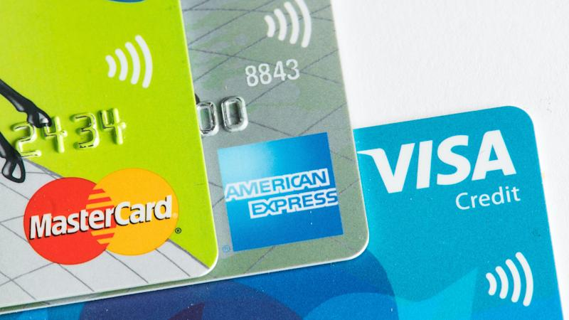 Credit card spending halved in April as shoppers avoided big-ticket purchases