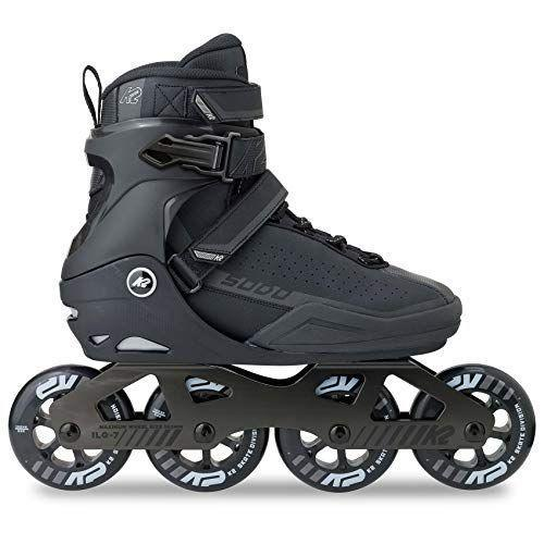 "<p><strong>K2 Skate</strong></p><p>amazon.com</p><p><strong>$535.05</strong></p><p><a href=""https://www.amazon.com/dp/B01M9EWU1A?tag=syn-yahoo-20&ascsubtag=%5Bartid%7C2140.g.34574615%5Bsrc%7Cyahoo-us"" rel=""nofollow noopener"" target=""_blank"" data-ylk=""slk:Shop Now"" class=""link rapid-noclick-resp"">Shop Now</a></p><p>Not only do these new blades from K2 boast slightly-larger wheels to navigate bumpy streets easily and a more aggressive cuff (and buckle system) to keep you feeling stable through turns on busy streets, but their sleek look fits <em>right</em> in with the city vibe. Strap 'em on to navigate through traffic with confidence or speed through your commute.</p><p><strong>Rave review:</strong> ""The skates are very light, so pushing off isn't a chore and going uphill is easy. The wheels ride so smoothly, I didn't feel a single crack under my feet, and since I usually ride on our town's bike path, I go over some really large cracks. Learning to brake with them will take some time, but a little grass or gravel will stop you right away. These are 100% worth the money to me!"" <em>—Xinza, amazon.com</em><br></p>"