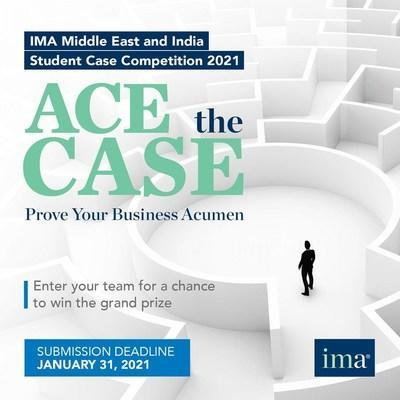 IMA 2021 Student Case Competition Goes Live