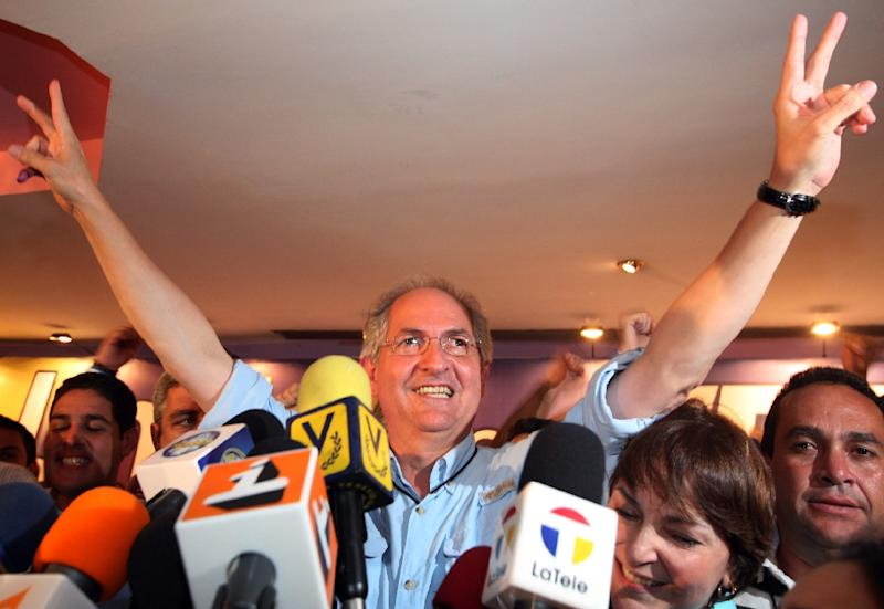 Antonio Ledezma, 62, was arrested and jailed in February 2015 after being accused of plotting to overthrow the president