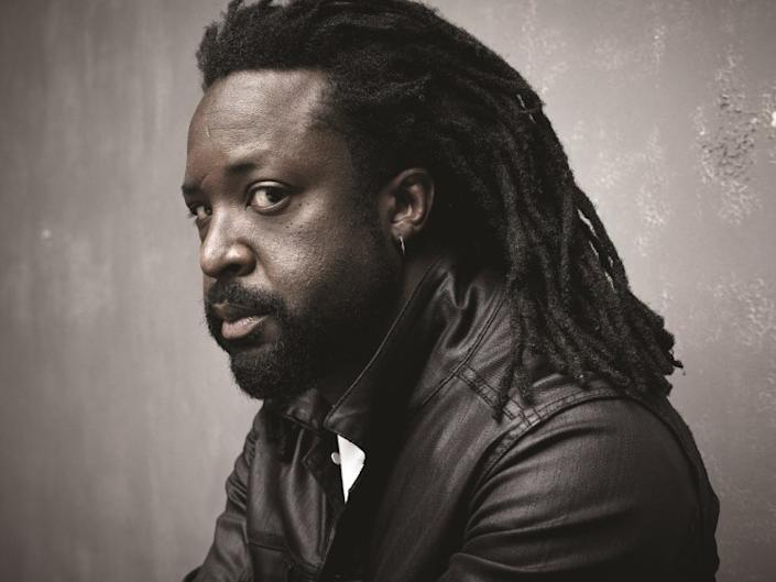 """An author photo of Marlon James for his book """"Black Leopard, Red Wolf."""" Credit: Mark Seliger"""