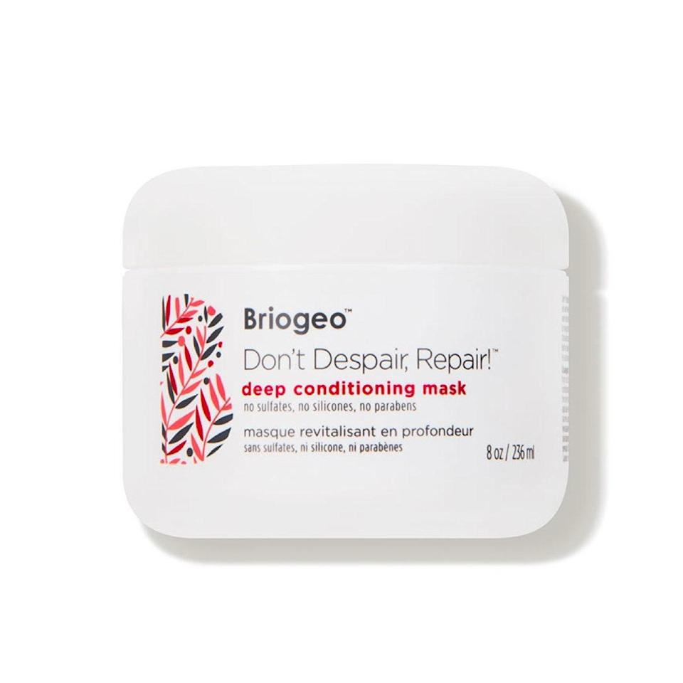 """At this point in time, your hair may be needing a little TLC from all the dry, cold winds (or just from being pulled into a ponytail daily). This rich mask is a favorite among <em>Glamour</em> staffers for its super-moisturizing and -repairing powers, thanks to antioxidants, biotin, and argan, avocado, and sweet almond oils. $36, Dermstore. <a href=""""https://shop-links.co/1715127291501382047"""" rel=""""nofollow noopener"""" target=""""_blank"""" data-ylk=""""slk:Get it now!"""" class=""""link rapid-noclick-resp"""">Get it now!</a>"""