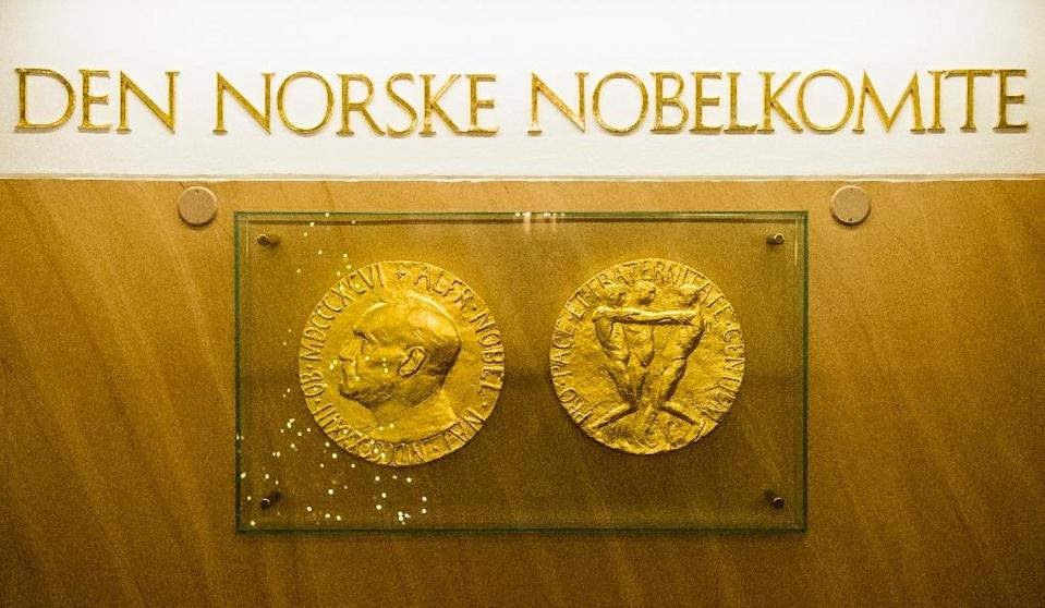 Nobel Peace Prize predictions are notoriously difficult, especially since the Nobel Institute keeps the list of nominations secret for 50 years (AFP Photo/ODD ANDERSEN)