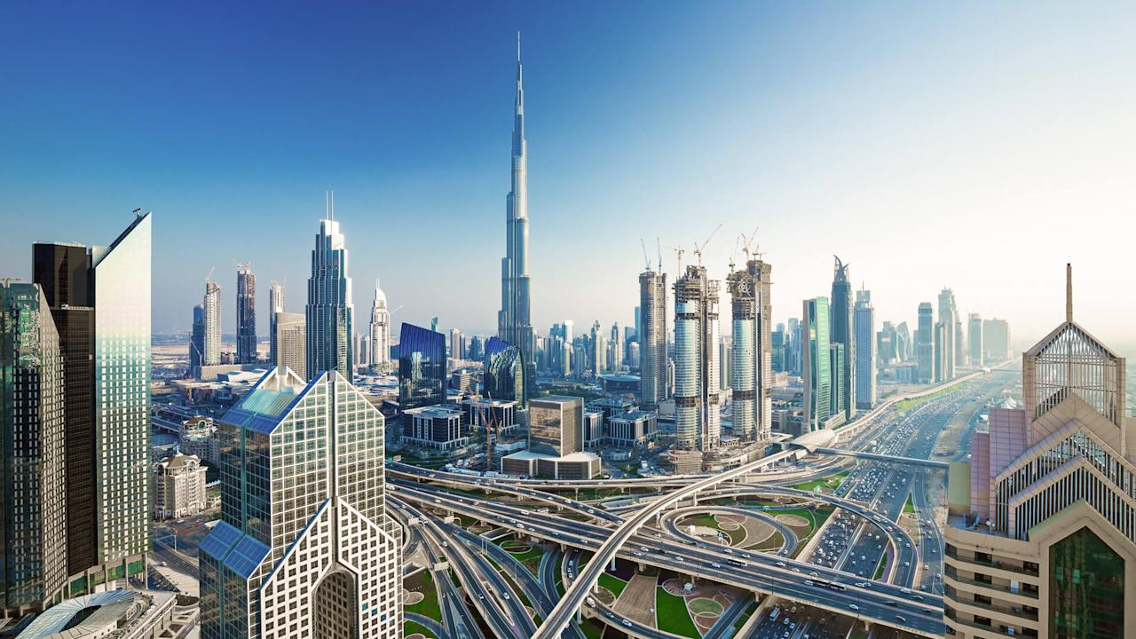 "<p>Dubai is the ultimate land of excess. The tiny emirate boasts the world's tallest building, the world's largest laser light show and an indoor ski slope. Perhaps it should come as no surprise, then, that Dubai is the place where you can use bitcoin to <a href=""https://www.gobankingrates.com/saving-money/heres-average-apartment-costs-us-cities/"">buy an apartment</a>. In September 2017, the Aston Plaza and Residences Development in Dubai Science Park began accepting payments of 30, 50 and 70 bitcoins for some of its studio, one-bedroom and two-bedroom apartments, respectively.</p>"