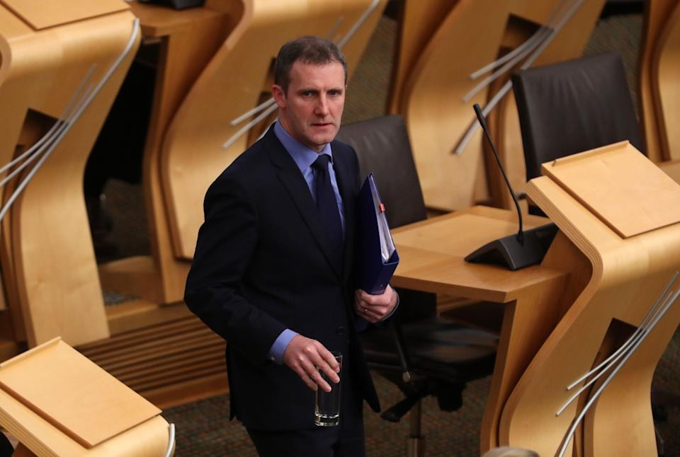 Transport Secretary Michael Matheson confirmed the changes (Andrew Milligan/PA) (PA Archive)