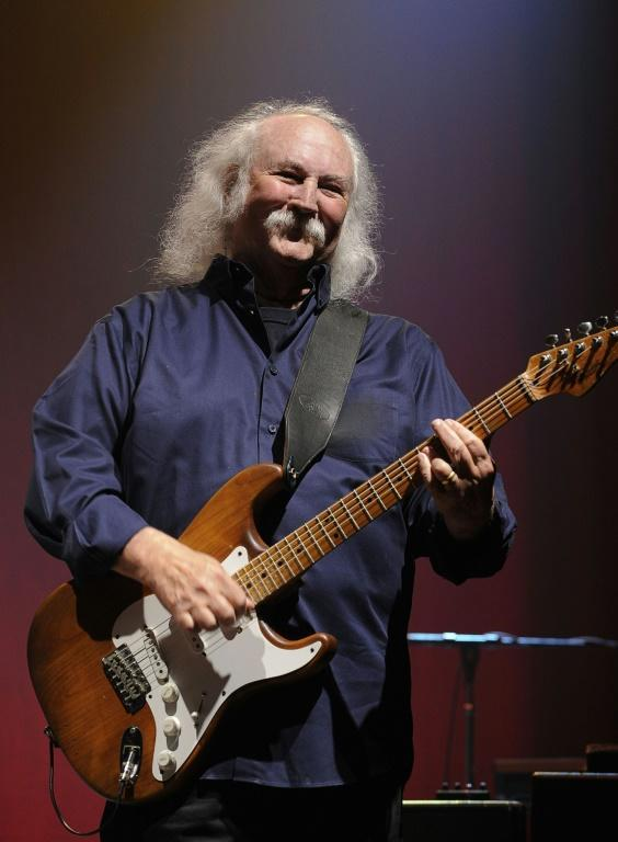 David Crosby, shown here performing in 2011, is itching to get back in front of a live audience