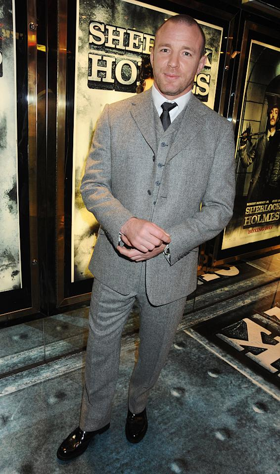 "<a href=""http://movies.yahoo.com/movie/contributor/1800023092"">Guy Ritchie</a> at the London premiere of <a href=""http://movies.yahoo.com/movie/1810045845/info"">Sherlock Holmes</a> - 12/14/2009"