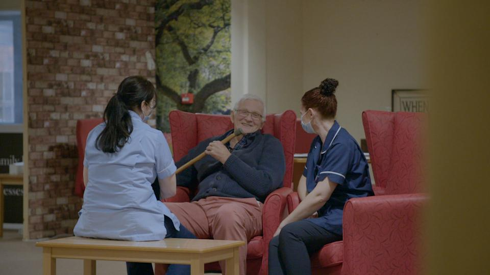 Programme Name: Dementia and Us - TX: n/a - Episode: Dementia and Us - Ep2 (No. n/a) - Picture Shows: Gilly  - (C) RDF Television - Photographer: RDF Television