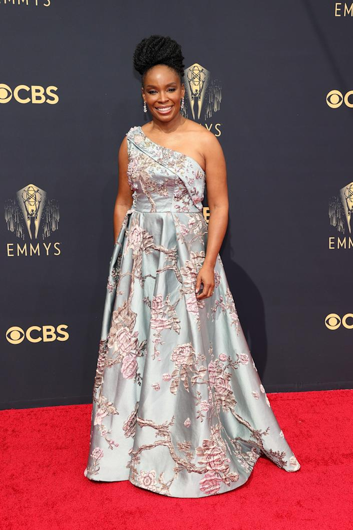 Amber Ruffin Emmys red carpet 2021 (Rich Fury / Getty Images)