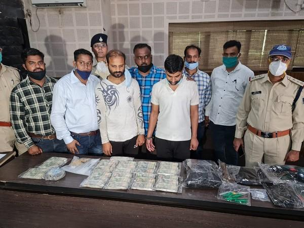 A visual of the arrested accused in Indore, Madhya Pradesh.