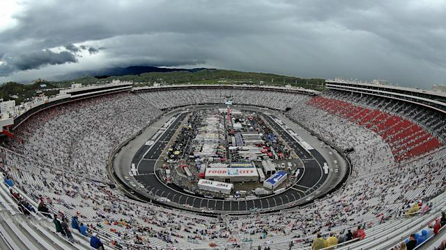 The Monster Energy NASCAR Cup Series Food City 500 at Bristol has been postponed due to rain and rescheduled for Monday at 1 p.m. ET.