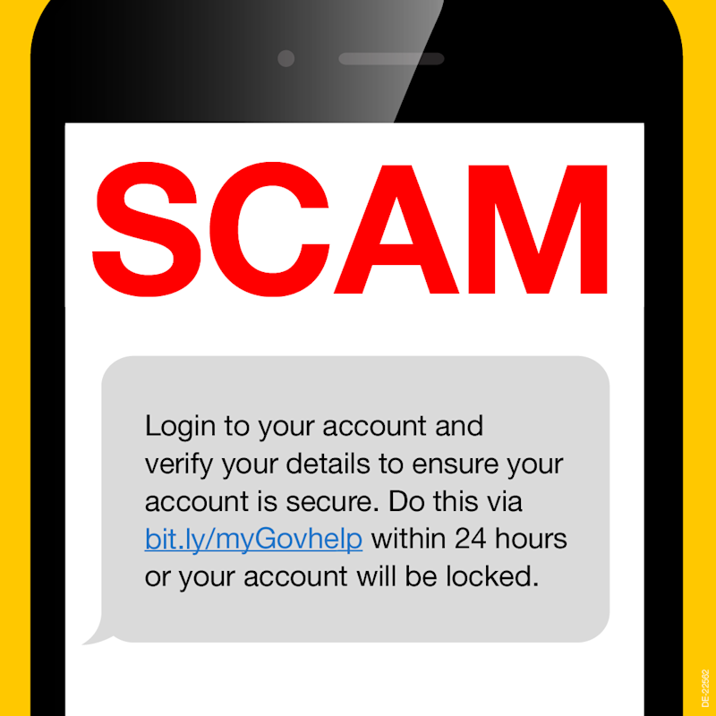 The ATO warns of new text scam. Source: ATO