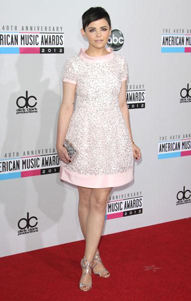 <b>Best dressed: Ginnifer Goodwin</b><br><br>The Once Upon a Time actress pulled off this Oscar de la Renta SS13 blush pink sequined mini-dress in style, coupling it with on-trend metallic accessories and a pair of silver Jimmy Choo's.