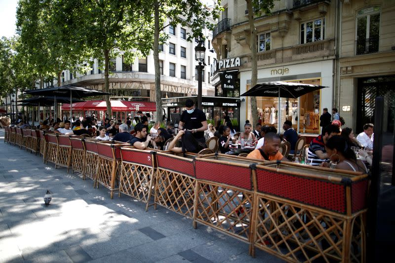 France to ban cafe terrace heaters as no longer cool