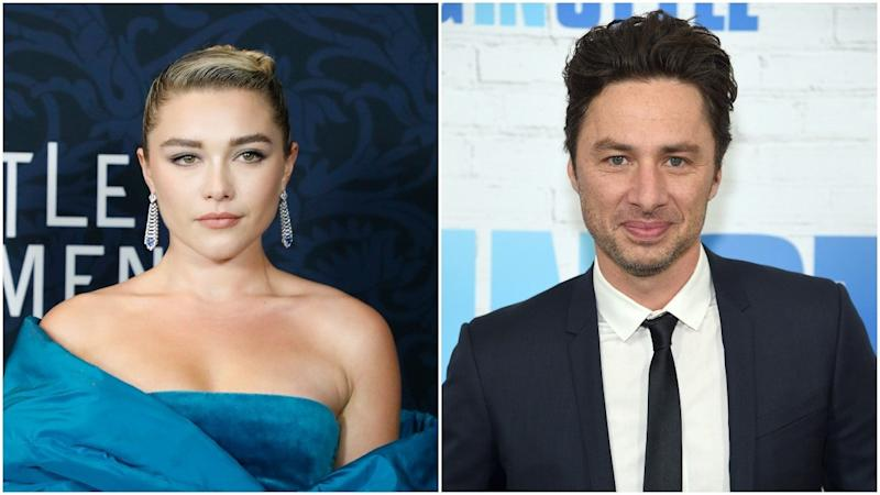 Florence Pugh responds to haters over age difference with boyfriend Zach Braff