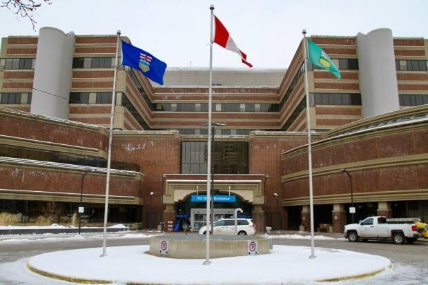 The University of Alberta has had to increase its intensive care capacity as hospitals across the province deal with surging COVID-19 cases. (David Bajer/CBC - image credit)